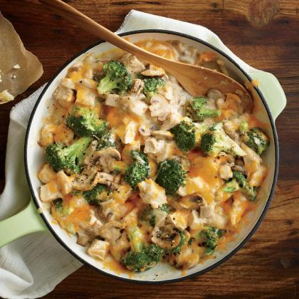 A satisfying casserole with all of your fall favorites. Preheat oven to o and grease a 9